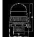 UDCP светодиодный маячок с постоянным/мигающим светом и креплением на панели 37 мм