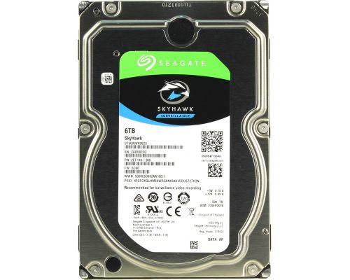 HDD 6000 GB SkyHawk (ST6000VX001) (6 TB) SATA-III Жесткий диск (HDD) для видеонаблюдения