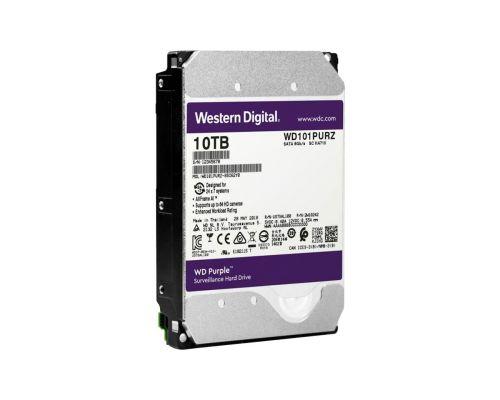 HDD 10000 GB (10 TB) SATA-III Purple (WD102PURX) Жесткий диск (HDD) для видеонаблюдения