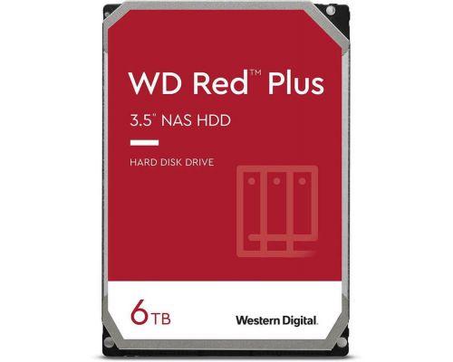 "Жесткий диск WD Red Plus WD60EFZX, 6ТБ, HDD, SATA III, 3.5"""