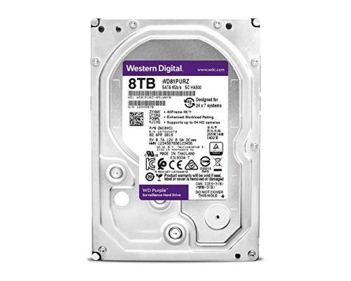 HDD 8000 GB (8 TB) SATA-III Purple (WD82PURX) Жесткий диск (HDD) для видеонаблюдения