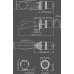 H110TX Рупор и ксеноновый строб-маяк