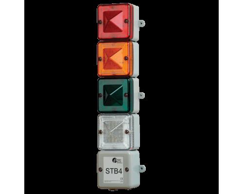 STB4 Комбинированный оптический ксеноновый и светодиодный маяк