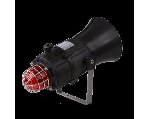 E2xC1LD2F Взрывобезопасный комбинированный звуковой сигнализатор и светодиодный маяк