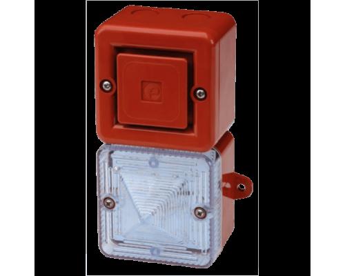 SONFL1X-HO Звуковой сигнализатор высокой мощности и ксеноновый строб-маяк