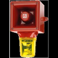 AB112RTH Аварийный звуковой оповещатель и проблесковый маяк