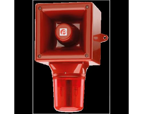AB112STR Аварийный звуковой оповещатель и ксеноновый строб-маяк