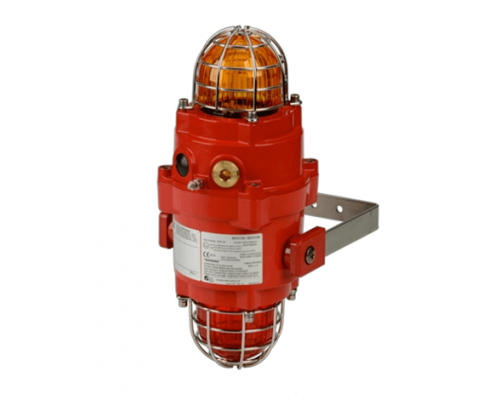 BExCBG05-05 Взрывозащищенный двойной ксеноновый маяк 5 Дж