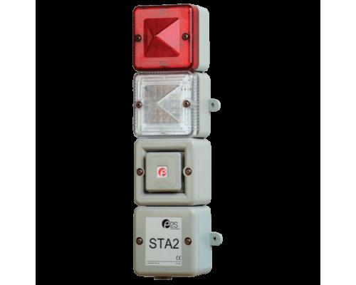 STA2 Комбинированный светозвуковой ксеноновый и светодиодный маяк