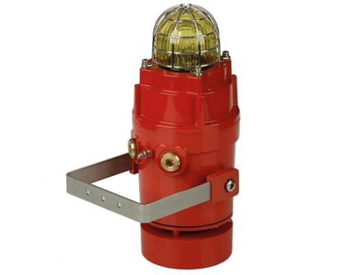 D1xC2X05R Взрывобезопасный радиальный сигнализатор и ксеноновый строб-маяк
