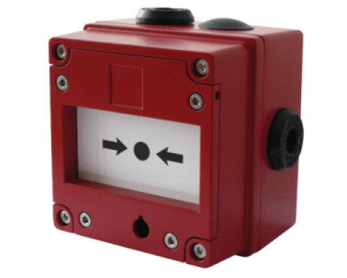 IS-CP4A-BG / IS-CP4B-BG Искробезопасная аварийная кнопка вызова со стеклом