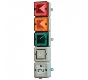 STA3 Комбинированный светозвуковой ксеноновый и светодиодный маяк