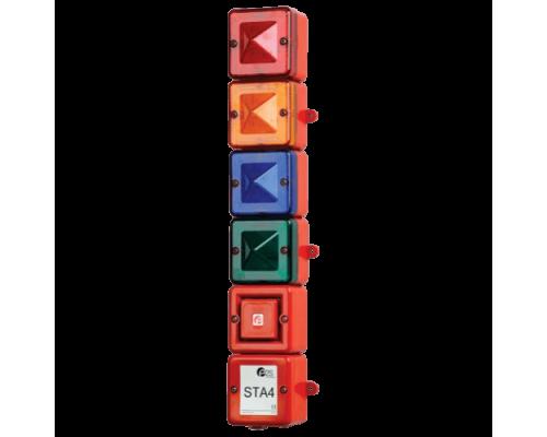 STA4 Комбинированный светозвуковой ксеноновый и светодиодный маяк