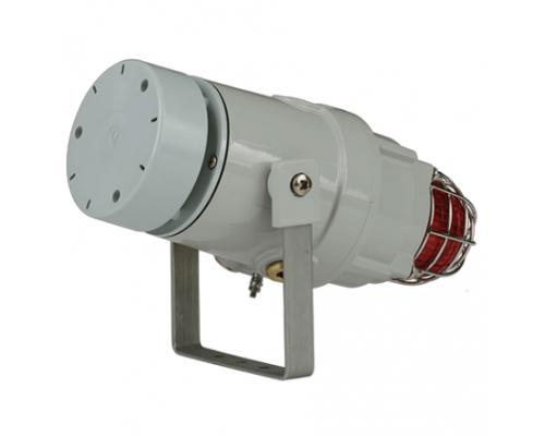 D1xC2X10R Взрывобезопасный радиальный сигнализатор и ксеноновый строб-маяк