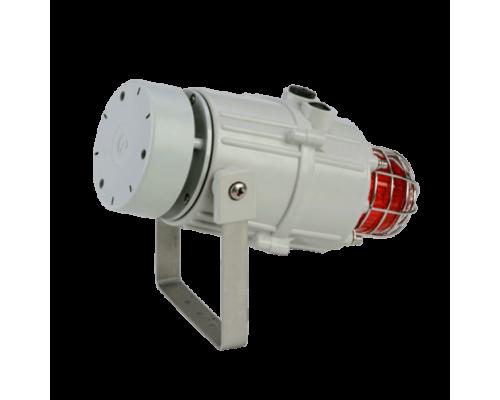MC1X05R Звуковой сигнализатор и ксеноновый строб-маяк морского исполнения
