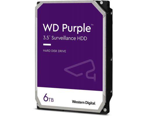 HDD 6000 GB (6 TB) SATA-III Purple (WD62PURX) Жесткий диск (HDD) для видеонаблюдения