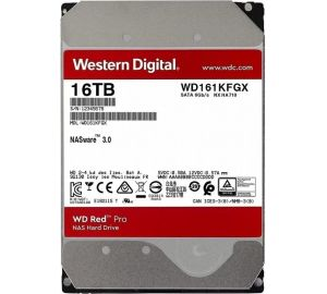 Жесткий диск WD Red Pro WD161KFGX, 16ТБ, HDD, SATA III, 3.5